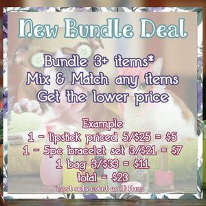 New Bundles Discounts & Lower Prices